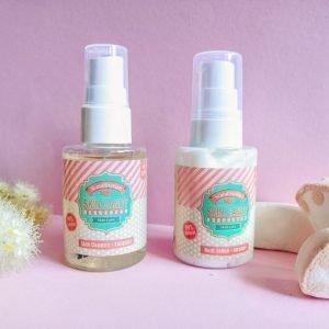 Caramel cleanser ja lotion